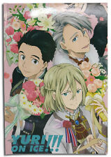 Yuri On Ice!!! Group Flowers Hardcover Journal Notebook Anime Licensed NEW