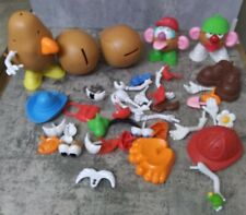 Mr Mrs Kids Potato Heads- Lot Of 5 Heads And 50+ Accessories EXCELLENT CONDITION