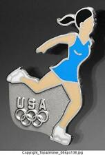 OLYMPIC PINS 2006 TORINO ITALY TEAM USA FIGURE SKATER