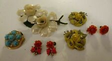 Plastic or Celluloid Jewelry Lot-8 Piece-Lot#2488