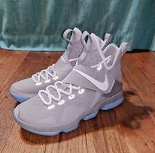 """Nike Lebron XIV 14 MAG """"Marty Mcfly"""" Back To The Future 852405-005 Size 9"""