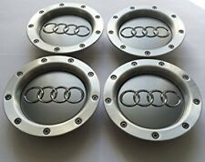 4x 146mm GENUINE AUDI Wheel Center Hub Cap A2 A3 A4 A6 S6 A8 TT RS6 8D0601165K