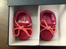Cole Haan Toddler Pink Grant Driver Moccasins Size 0M 18