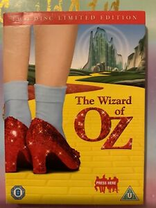 The Wizard Of Oz DVD 2 Disc Limited Special Edition With Slip Cover Judy Garland