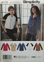 Skirt /& Pants Sz 6-24 UNCUT Pattern 8265 Simplicity D0697 Tunic Duster Jacket