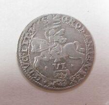 Lithuanian Six Groats Joan Casimirus Jonas Kazimieras Lithuania Silver Coin