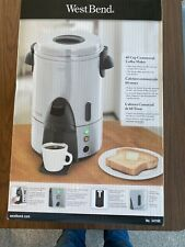 BRAND NEW West Bend 60 Cup Coffee Maker 54160