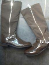 Brand New Unworn Ladies Womens Brown Calf Boots size 8