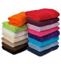 12 Bath Towels Wholesale Job Lot Offer Various Styles and Colours ALL MIXED