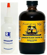 Sunny Isle Jamaican Black Castor Oil Original 8oz with free applicator