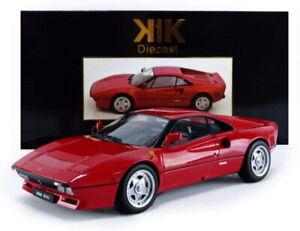 Ferrari 288 GTO Upgrade Red (Black/Red interior) 1984 1:18 (KK Scale 180414)