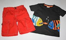 Mini Boden Boys 2 pcs SET Size 4-5,6 years EUC!!