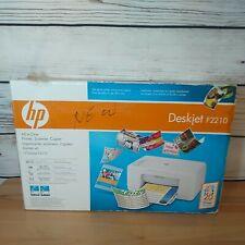 HP Deskjet F2210 All-In-One Inkjet Printer New