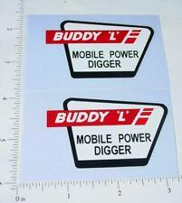 Buddy L Mobile Power Digger Truck Sticker Set    BL-132