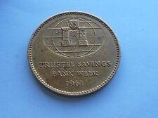 Trustee Savings Bank Week 1961, Commemorative Token.