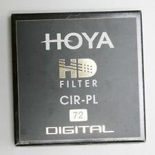 HOYA FILTRO POLARIZZATORE CIRCOLARE HD 72 mm GARANZIA ITALIA