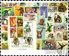 Monkeys : 50 Different Stamps Collection