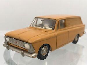 MOSKVITCH 433 A5 NOVOEXPORT URSS CCCP USSR DDR UDSSR CAR TOY 1/43 RARE COLOR
