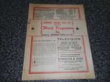 ALDERSHOT  v  GUILDFORD CITY   1954/5  MAYOR OF ALDERSHOT CUP ' DERBY ' ~ MAR 23