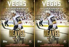 2x LAS VEGAS GOLDEN KNIGHTS HIGHLIGHTS RYAN REAVES Topps Skate Digital Card