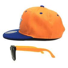 Niños Cap Set NY Gorra Béisbol & Gafas de sol NY Snapback Gorra Negro Gorras