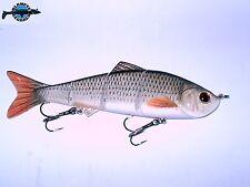 Leurre poisson nageur articulé Live Real Shad 152S RE pêche brochet sandre bar
