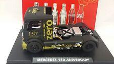 FLYSLOT TRUCK MERCEDES COKE ZERO  LTD. EDT. 130 ANIVERSARY - SCALEXTRIC-NEW!