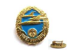 east german NVA Army AIR FORCE badge DDR GDR ( MiG fighter aircraft/ airplane )