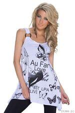 Markenlose Damenblusen, - tops & -shirts aus Baumwolle mit S