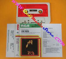 MC LOU REED New york superstar 1978 italy RCA NK 42723 no cd lp dvd vhs