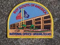 BSA Boy Scout National Office Texas Patch Boy Scout Patch Vintage