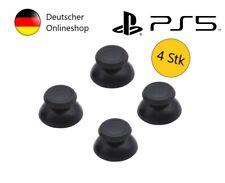 4x Playstation 5 Controller Joystick Gamepad Thumbstick Kappen Schwarz PS5 Cap