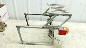 81 Moto Guzzi V1000 V 1000 I Convert rear back luggage rack and turn signals