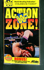 A8 Very Rare WWF VHS Tape  WWF Action Zone  The Undertaker, Steve Austin
