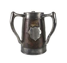 Golf Memorabilia St. Louis Field Club 1908 Three Handled Stein Trophy c1908