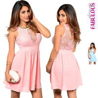 New Sexy Lace Dress Size 6-12 Stylish Cocktail Formal Evening Going Out Wear