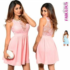 New Lace Dress Size 6-12 Stylish Cocktail Formal Evening Party Going Out Wear