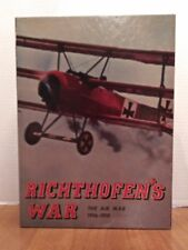 Vintage Richthofen's War Avalon Hill WWI Arial Combat Strategy Board Game