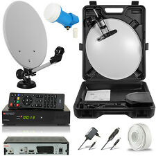 HDTV HD HDMI Digitale Camping Mobile SAT Anlage Digital Receiver 230V12V LNB 0,1