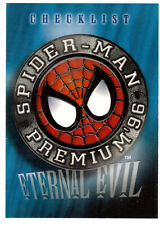 1996 SPIDER-MAN PREMIUM ETERNAL EVIL 100-CARD BASE SET VENOM CARNAGE