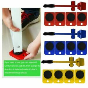 Heavy Duty Furniture Removal Transporter Wheel Trolley Dolly Piano Mover Lifter