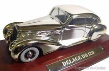 Delage D8 120 Plata 1:43 Ixo Agostini Diecast Coche