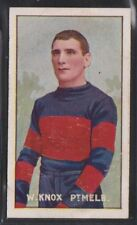 Sniders & Abrahams - Australian Footballers 1906 W.Knox - Port Melbourne