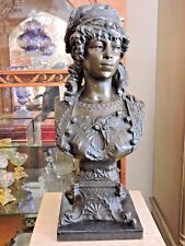 Victorian-style Bronze Bust of Lady