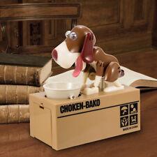 Dog Piggy Bank - Robotic Coin Munching Money Box Unique Money Saving Box lot US