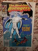 Newsstand West Coast Avengers #45 #56 1st White colorless Vision Wanda Vision