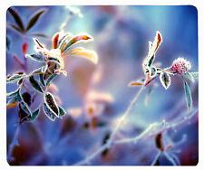 tapis de souris fleur gel neige hiver glace réf 41