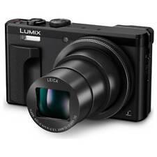 Panasonic Lumix TZ80 Black Zoom Optical 30X Leica 4K