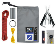 Survival Kit Tool Module Solkoa Survival Systems and Leatherman Squirt Multitool