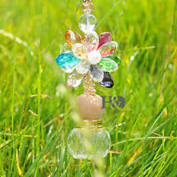 Chandelier Crystal Prism Suncatcher Feng Shui Pendant Window Car Hanging Decor
